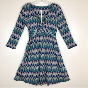 Anthropologie {Uncle Frank} Print Dress Size XS